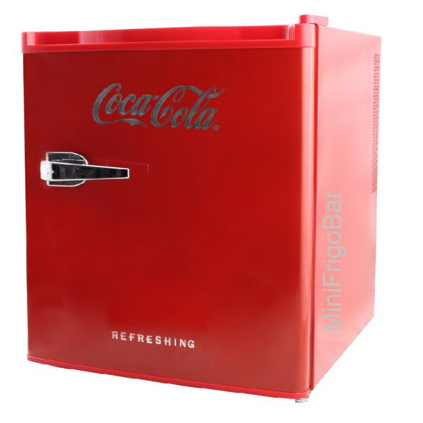 mini bar frigorifero coca cola rosso minifrigo bar. Black Bedroom Furniture Sets. Home Design Ideas
